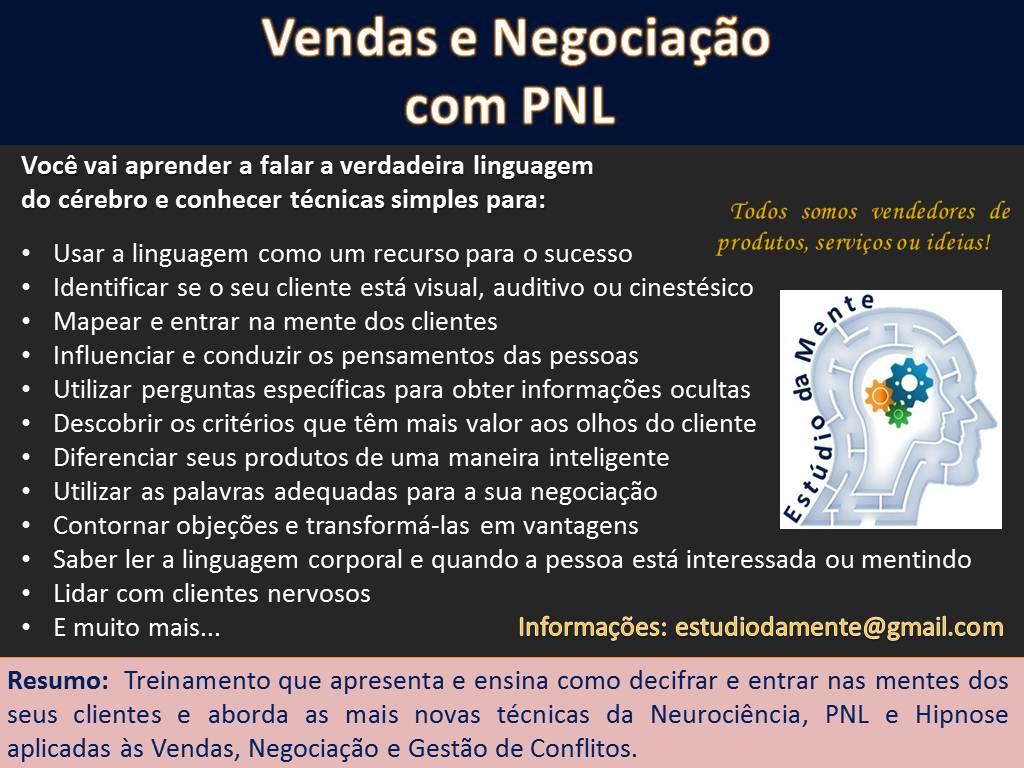 Curso Vendas e Negociação com PNL2